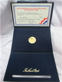 The Gold Presidential Inaugural Medal  (Lincoln Mint, 1977)