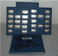 The World of Flight Commemorative Ingot Collection  (Hamilton Mint, 1974)