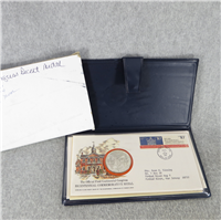 Bicentennial Commission of Pennsylvania First Continental Congress Commemorative Medal and Cachet  (Franklin Mint, 1974)