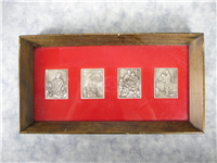 The Norman Rockwell Four Freedoms Ingot Collection  (Hamilton Mint, 1974)