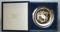 "Franklin Mint Limited Edition Plate: Signs of the Zodiac by Gilroy Roberts, ""Cancer"""