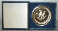 """Franklin Mint Limited Edition Plate: Signs of the Zodiac by Gilroy Roberts, """"Gemini"""""""
