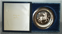 "Franklin Mint Limited Edition Plate: Signs of the Zodiac by Gilroy Roberts, ""Aries"""