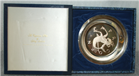 "Franklin Mint Limited Edition Plate: Signs of the Zodiac by Gilroy Roberts, ""Capricorn"""