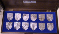 The Royal Arms of Britain Silver Ingot Collection