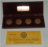 Danbury Mint Symbols of Liberty Medals Collection