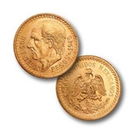 MEXICO 250 Pesos Gold Coin  (1985-1986)
