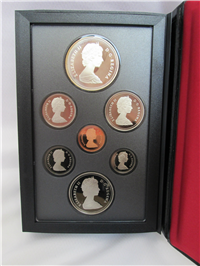 7 Coin Proof Set (Royal Canadian Mint, 1986)