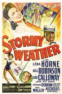 STORMY WEATHER   Original American One Sheet   (20th Century Fox, 1943)