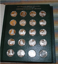 The Canadian Historical Society's Medallic History of Canada Medals Collection  (Franklin Mint)