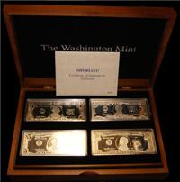 Washington Mint: The Quarter Pound Silver Currency Complete Set