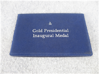 The Jimmy Carter Gold Presidential Inaugural Medal  (Danbury Mint, 1977)