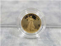 American Eagle 1/10 Ounce Gold $5 Dollar Proof in Box with COA (US Mint, 1996-W)
