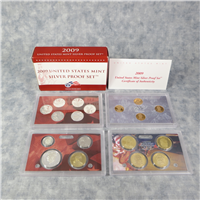 18 Coins Silver Proof Set  (US Mint, 2009)