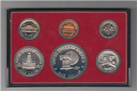 USA  6 Coins Bicentennial Proof Set   (U.S. Mint, 1976)