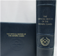 The Official History of the Olympics Games Medals Collection  (Franklin Mint, 1976)