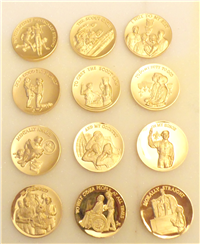 The Boy Scout Oath Medallion Collection  (Wittnauer Mint, 1974)
