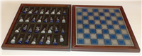 The National Historical Society Civil War Chess Set  (Franklin Mint, 1983)