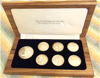 The Lindbergh Memorial Medallion Collection  (International Silver, 1977)