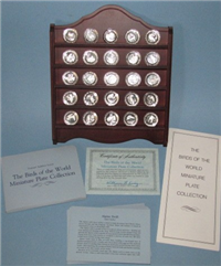The Birds of the World Miniature Plates Collection  (Franklin Mint, 1980)