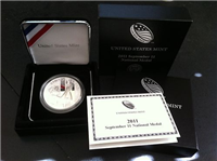 USA 2011 US Mint September 11 National Medal in Box with COA