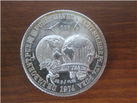 The International Universal World Trade Unit Silver Coin