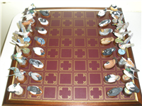 The North American Ducks Limited Edition Chess Set  (Franklin Mint, 1977)