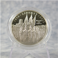 U.S. Military Academy Bicentennial Silver Dollar Proof + Box & COA (US Mint, 2002-W)