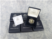 Susan B. Anthony Proof Dollar with Box and COA (US Mint, 1999)