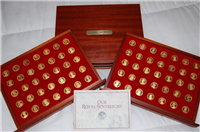 Our Royal Sovereigns Medals Collection  (Danbury Mint, 1991)