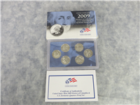 6-Coin District of Columbia & US Territories Quarters Proof Set  (U.S. Mint, 2009)