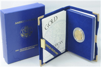 USA 1994-W $10 1/4 Ounce Gold American Eagle Proof in Box with COA