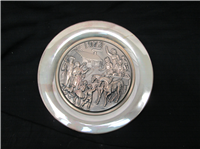 'Winter Holiday, Christmas 1973' Commemorative Plate  (Wittnauer Mint, 1973)
