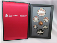 7 Coin Proof Set (Royal Canadian Mint, 1987)