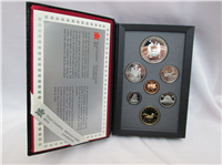 7 Coin Proof Set (Royal Canadian Mint, 1988)