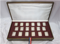 The Signers of the Declaration of Independence Ingots Collection  (Hamilton Mint, 1976)