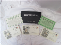 First Day Susan B. Anthony Dollar 3 Coins Postal Commemorative Set  (US Mint, 1979)