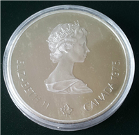 Montreal Olympics $10 Commemorative Silver Coin (Royal Canadian Mint, 1976)