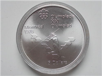 Montreal Olympics $5 Commemorative Silver Coin (Royal Canadian Mint, 1976)