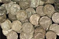 Common Buffalo or Indian Head Nickels (Any Date 1913 - 1938)