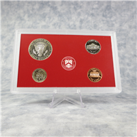 9 Coin 50 State Quarters Silver Proof Set with Red Box & COA (US Mint, 1999)