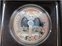 US Congressional 200th Anniversary Silver Proof Dollar with Box & COA   (US Mint, 1989)