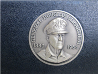 Douglas MacArthur Commemorative Silver Medal Set (Danbury Mint, 1971)