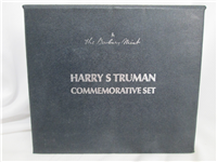 Harry Truman Commemorative Silver Medal Set (Danbury Mint, 1973)