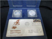 Missouri Sequicentennial Silver Medal Set (Danbury Mint, 1971)
