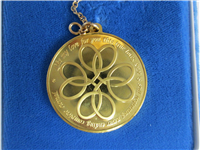 The 18KT Gold Love Token Pendant  (Franklin Mint, 1976)