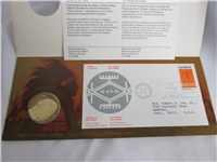 Indians Of Canada Medallic Cover  (Wellings Mint, 1972)