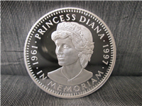 LIBERIA 1997 $20 Princess Diana Silver Proof