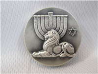 The Lion Of Israel Silver Peace Medallion (Medallic Art, 1969)