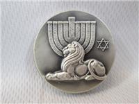 Lion Of Israel Silver Peace Medallion (Medallic Art, 1969)